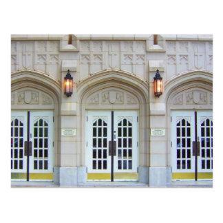 Kirchen-Türen 1 Postkarte