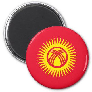 Kirgisistan Runder Magnet 5,7 Cm