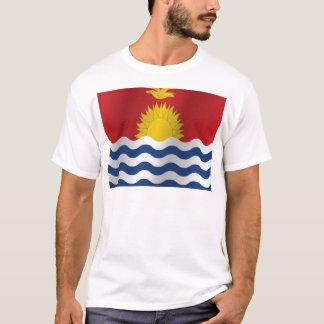 Kiribati-Flagge T-Shirt