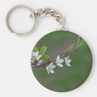 Kirschbaum-Blumen Schlüsselanhänger