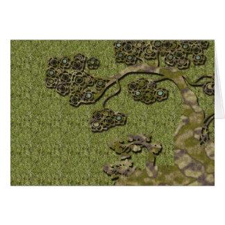 Kirschbaum - der Vatertag Grußkarte