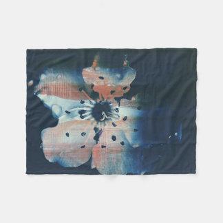 KirschBlumen-Fleece-Decke Fleecedecke