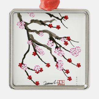 Kirschblüte 10 Tony Fernandes Silbernes Ornament