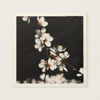 Kirschblüte-Blumen Serviette
