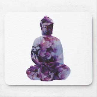 Kirschblüte Buddha Mousepad