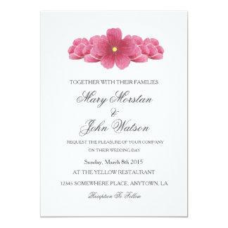 Kirschblüte-Frühlings-Hochzeits-Einladung 12,7 X 17,8 Cm Einladungskarte