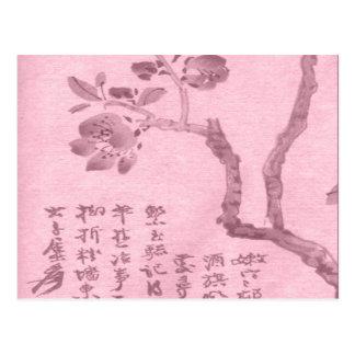 Kirschblüte Postkarte
