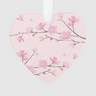 Kirschblüte - Rosa - gerade verheiratet Ornament