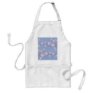 Kirschblüte - Ruhe-Blau Schürze