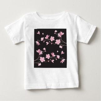 Kirschblüte - Schwarzes Baby T-shirt