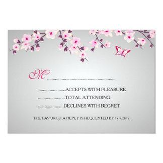 Kirschblüten-Baby-Dusche UAWG 8,9 X 12,7 Cm Einladungskarte