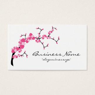 Kirschblüten-Baumast-Visitenkarte Visitenkarte