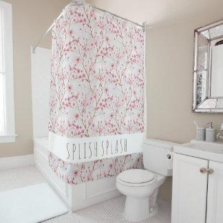 Kirschblüten-Duschvorhang Duschvorhang