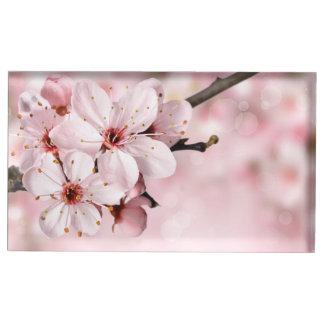 Kirschblüten in der Blüte Tischkartenhalter
