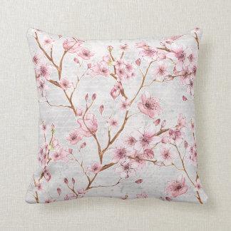 Kirschblüten-Kissen Kissen