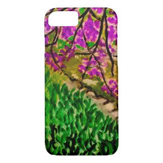 Kirschblüten-Landschaft auf iPhone 7 Fall iPhone 8/7 Hülle