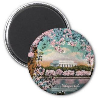 Kirschblüten-Magnet Runder Magnet 5,7 Cm