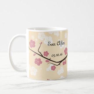 Kirschblüten-Niederlassungs-Hochzeiten Kaffeetasse