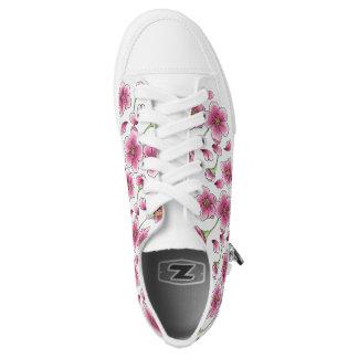 Kirschblüten-Schuhe Niedrig-geschnittene Sneaker