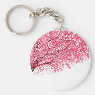 Kirschblüten und -niederlassungen schlüsselanhänger