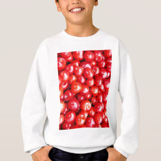 Kirsche Frucht-, diegesundheit gesunde rosa Sweatshirt