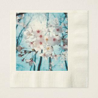Kirschkirschblüte-Blüte Papierservietten