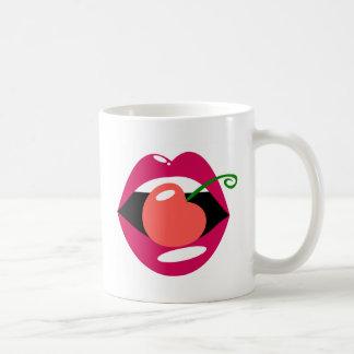 Kirschlippen Kaffeetasse