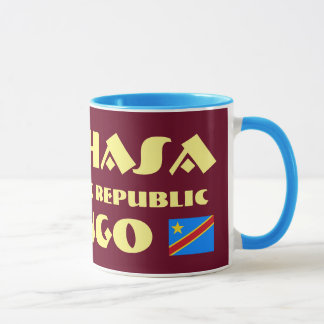 Kishasa der Kongo moderner Entwurfs-Tasse Tasse