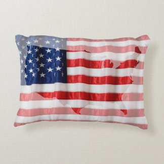 Kissen-Amerikanische Flagge Zierkissen