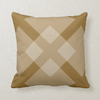 Kissen - Brown-Quadrat-Überschneidung
