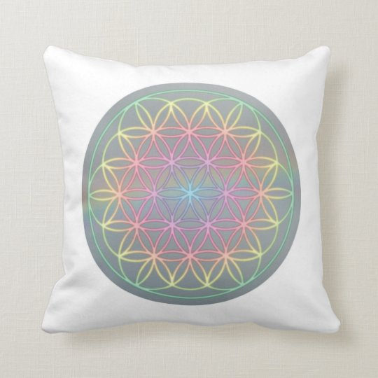 "Kissen ~ Healing~Energy ""Flower Of Life"""