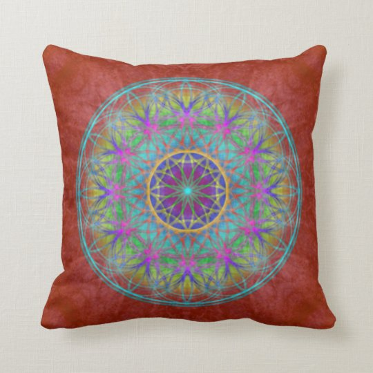 "Kissen ~ Healing~Energy Oneness ~ ""Flower Of Life"""