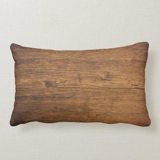 Kissen Holz