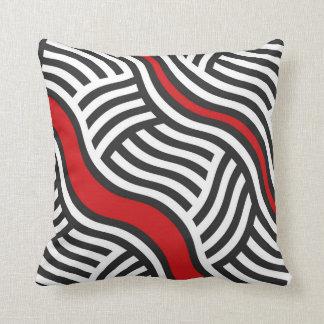 Kissen in der modernen geometrischen abstrakten