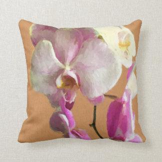 Kissen mit Orchideen-Entwurf