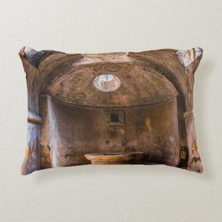 Kissen - römische Bäder - altes Pompeji, Italien