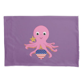 Kissenbezug-Krake für ein Frühchen US Kissen Bezug