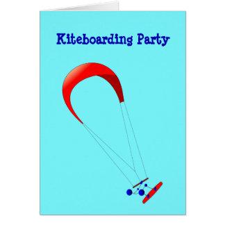 Kiteboarding Kitesurfing Geschenke Karte
