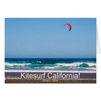Kitesurf Kalifornien! Produkte Karte