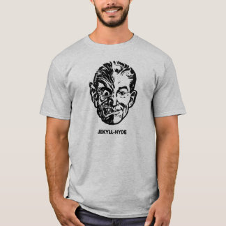 Kitsch-Vintager Monster-Dr. Jekyll u. Herr Hyde T-Shirt
