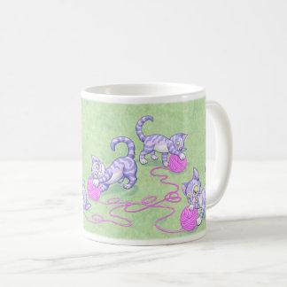 Kittipurra lila Rosa Kaffeetasse