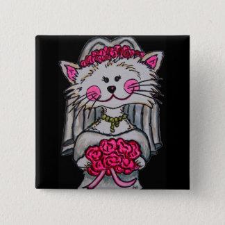 Kitty-Braut, zum Button zu sein
