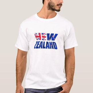 Kiwi-Flaggenlogo Neuseelands Aotearoa T-Shirt