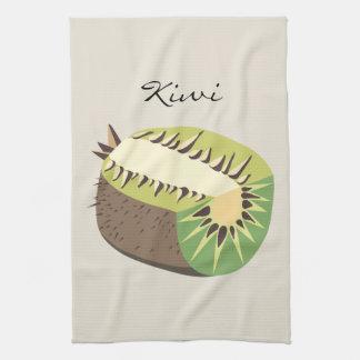 Kiwi fruit illustration handtuch