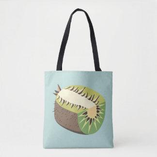 Kiwi fruit illustration tasche