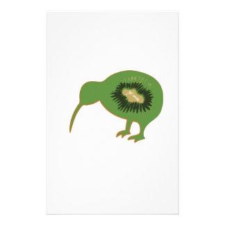 Kiwi nz Kiwifruit Briefpapier