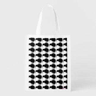 KIWI-Silhouette Wiederverwendbare Einkaufstasche