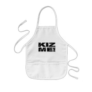 Kiz ich Kizomba Kinderschürze