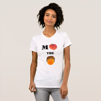 Klagen Sie den orange Crew-Hals-T - Shirt an