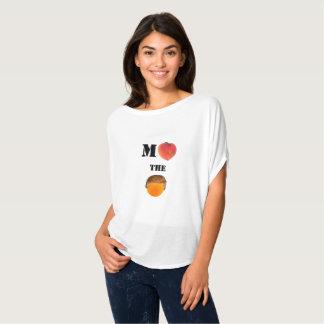 Klagen Sie die orange Flowy Kreis-Spitze an